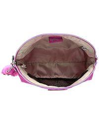 Kipling Purple Zadok Solid Cosmetic Bag
