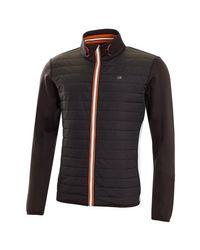 Tec Jacket - Noir/Orange Calvin Klein pour homme en coloris Black