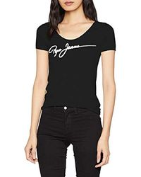 Dani T-Shirt di Pepe Jeans in Black