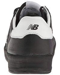 New Balance Black 300 V1 Court Sneaker for men