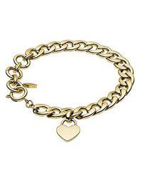 Jewelry VINTAGE ICONIC JF03277791 Bracelet pour femmes Fossil en coloris Metallic