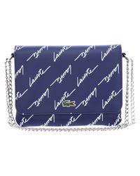 Rel! Ve Crossover Bag Blue Depths di Lacoste