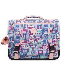 Preppy Luggage Robot Camo Pink Kipling