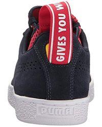 PUMA Multicolor Red Bull Racing Suede Sneaker for men