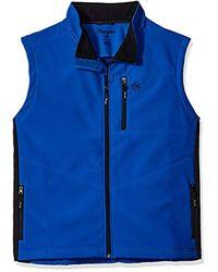 Wrangler Blue Big And Tall Trail Vest for men