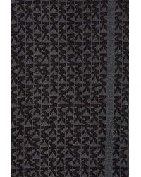 Michael Kors Mk Reversible Scarf, Black/derby