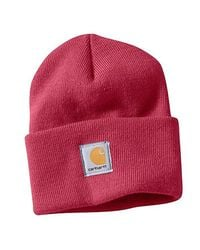 Carhartt - Red Acrylic Watch Hat - Lyst