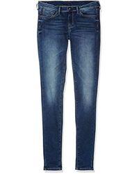 Pixlette, Vaqueros para Niñas, Azul (10Oz Dk Worn Str Basic Y47) 6 años Pepe Jeans de color Blue