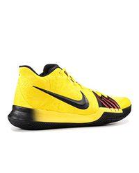 T-shirt de sport à manches courtes Miler Crew, spécial course Nike en coloris Yellow