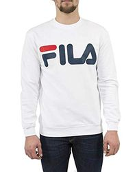 Kriss Sweater di Fila in White da Uomo