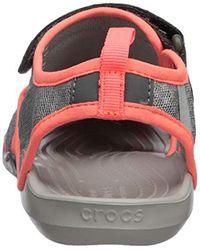 Crocs™ Gray Swiftwater Mesh W Geschlossene Sandalen