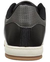 Levi's Black Declan Millstone 2 Tone Sneaker for men