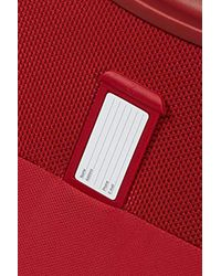 Lite Icon - Upright with USB Port Valise, 45 Samsonite pour homme en coloris Red
