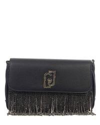 Luxury Fashion | Liu Jo Donna AF0013E000522222NERO Nero Poliuretano Borsa A Spalla | Autunno-inverno 20 di Liu Jo in Black