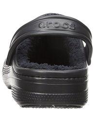 Crocs™ - Black Unisex Winter Clog Mule for Men - Lyst