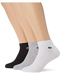 Lacoste Black Socks for men