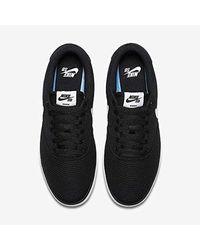 SB Check Solar Cnvs Nike de hombre de color Black