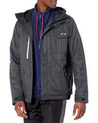 Division 3.0 Jacket di Oakley in Black da Uomo