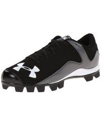 Leadoff Low RM Baseball Shoe Under Armour en coloris Black