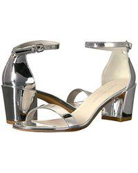 Stuart Weitzman Multicolor Simple Heeled Sandal
