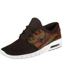 Stefan Janoski Max Mid Chaussures de Skateboarding Nike pour homme en coloris Brown