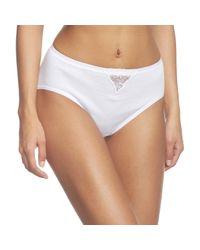 Triumph White Yselle Basics Maxi Slip