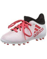 X 17.3 AG J, Chaussures de Football garçon Adidas pour homme en coloris Multicolor