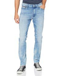 Uomo Simon Skinny Dycrl Straight Jeans di Tommy Hilfiger in Blue da Uomo