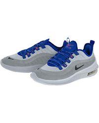 Nike Blue Kurzärmliges Laufshirt Embossed