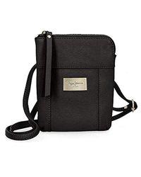 Lica borsa A tracolla, 16 cm, Nero (Nero) di Pepe Jeans in Black