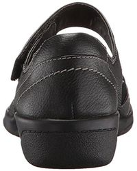 Clarks Black Cheyn Web Mary Jane Flat
