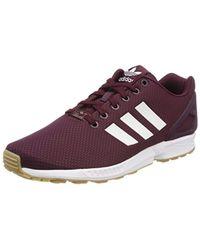 ZX Flux, Chaussures de Gymnastique Adidas pour homme en coloris Multicolor