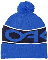Oakley Blue Factory Cuff Beanie for men