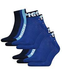 Tommy Hilfiger Quarter 4er Pack in Blue für Herren