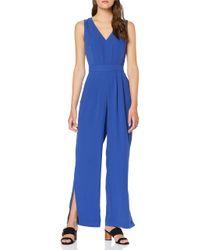 Great Plains Blue Lola Drape Jumpsuit