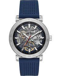 Reloj Analógico para Hombre de Automático con Correa en Silicona MK9040 Michael Kors de hombre de color Multicolor