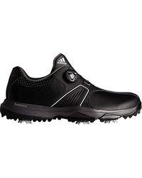 Adidas Black 360 Traxion Boa Golf Shoe for men