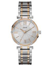 PARK AVE orologi donna W0636L1 di Guess in Metallic
