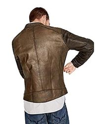 Pepe Jeans Vincent Jackets Brown Leather Jackets/imitation Leather for men