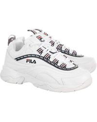 Ray-Repeat Chaussures de Sport pour Fila en coloris White