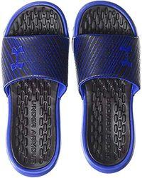 Playmaker Speeder Sandales pour Under Armour pour homme en coloris Blue