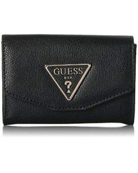 Guess Black Maddy Double Date Wallet Maddy Double Date Wallet