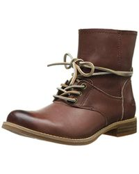 Timberland Brown Savin Hill Lace Ankle Boot
