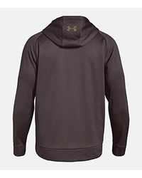 Under Armour Brown Storm Caliber Hoodie for men