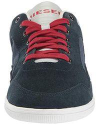 DIESEL Herren S-Happy Low Sneakers in Blue für Herren