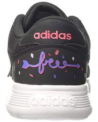 Lite Racer K, Chaussures de Gymnastique Mixte Enfant Adidas pour homme en coloris Multicolor