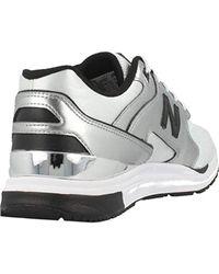 New Balance Wl 1550 Mb Metallic Silver White