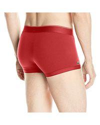 Lacoste Red Ram5418 Boy Short for men