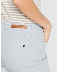 Tommy Hilfiger Multicolor Como Skinny Rw A Clr Straight Jeans