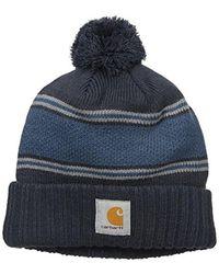 23a12f181bc Lyst - Carhartt Rexburg Graphic Hat in Blue for Men
